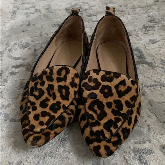 franco sarto susie loafer leopard